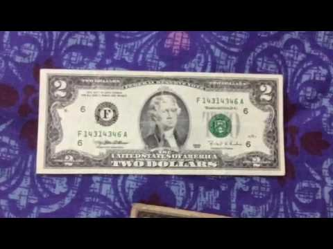 World currency USA rare notes