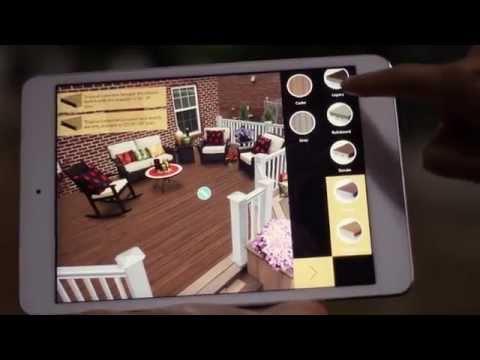 Tablet Deck Designer App