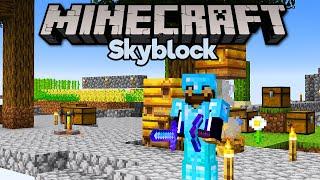 Full Diamond Armour & Tools in Skyblock! • Minecraft 1.15 Skyblock (Tutorial Let's Play) [Part 11]