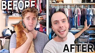 Video OUR HUGE CLOSET MAKEOVER! MP3, 3GP, MP4, WEBM, AVI, FLV Juli 2019