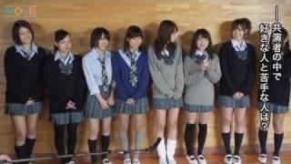 『方言彼女。2』DVD発売記念 学園祭イベント 囲み取材