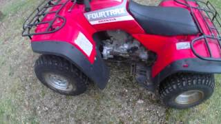 8. Talking about the 1988 Honda Fourtrax 300 4x4 - Testing Classic ATVs