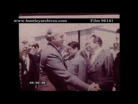 Video President Bhutto visits Baghdad.  Archive film 98141 download in MP3, 3GP, MP4, WEBM, AVI, FLV January 2017
