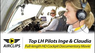 Video MUST SEE! TWO COOL LADIES piloting HEAVY MD-11F ULTIMATE COCKPIT MOVIE [AirClips full flight series] MP3, 3GP, MP4, WEBM, AVI, FLV Agustus 2019