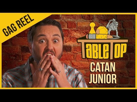 Junior - Wil-ville is the capital city of Awesometown. Welcome to the TableTop gag reel! Plus, Wil recommends some of holiday gift ideas! Watch the full episode of Catan Junior here: http://youtu.be/iZ3gK...