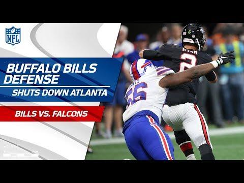 Video: Buffalo's Defense Shuts Down Matt Ryan and Co. | Bills vs. Falcons | Wk 4 Player Highlights