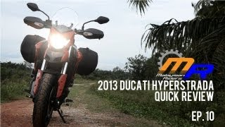 8. 2013 Ducati Hyperstrada Quick Review -- Ep.10