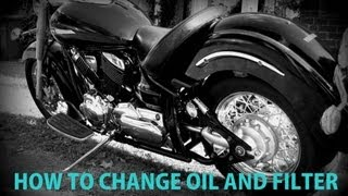 9. Yamaha XVS 1100 Oil and Filter Change (HD)