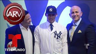 Joven Pelotero Dominicano firmó con Los Yankees | Al Rojo Vivo
