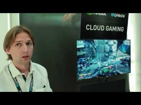 E3 Expo 2012 Samsung Smart TV Cloud Gaming Powered by Gaikai and Nvidia (видео)