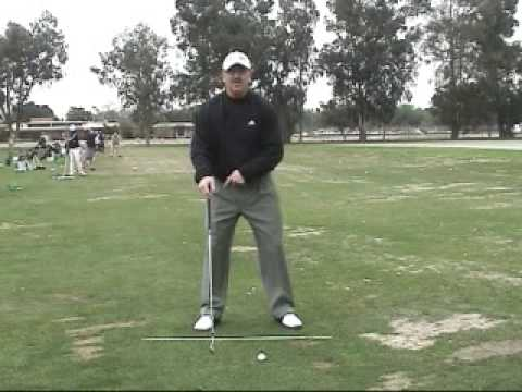 Golf Instruction - Use of legs in the Golf Swing