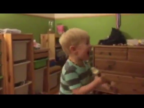Precious! Deaf Toddler Hears Music for the First Time and He's Making It!