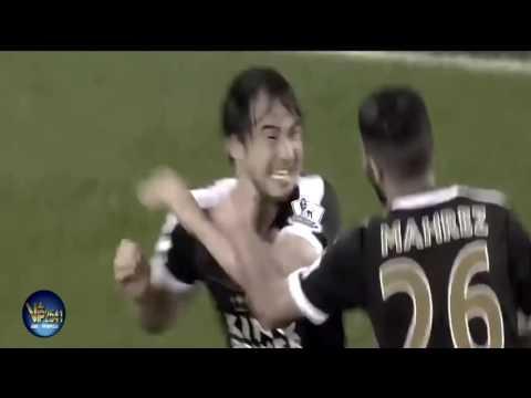 Shinji Okazaki Goals  Leicester City 2016