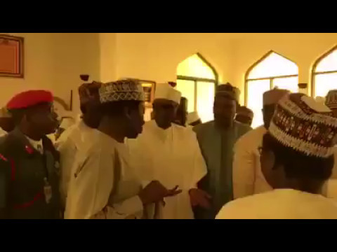 Video of President Muhammadu Buhari in Jumat Today (5/5/2017)
