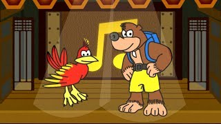Rhythm Kazooie - Manzai Bear and Bird