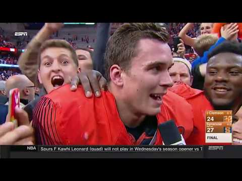 Last 6 Minutes of the GREATEST UPSET OF ALL TIME-- (2)Clemson vs. Syracuse Game. WORLD SHOCKED (видео)