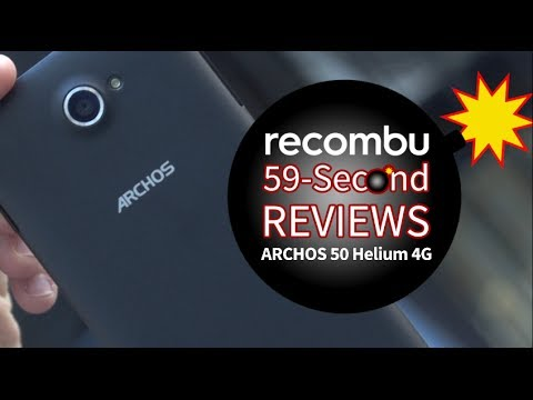ARCHOS 50 Helium 4G: 59-Second Review