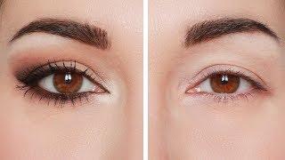 Trucco occhi: cat eyes semplice e d'effetto.[Eng sub] Consigli per palpebra cadente