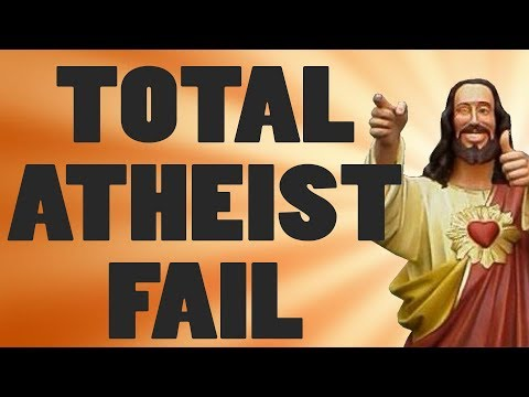 Atheist FAILS To Answer 10 Questions Atheists CANNOT Answer!!!!