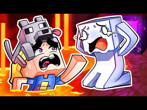 Minecraft nether is terrifying with TheOdd1sOut
