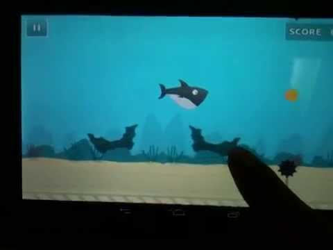 Video of Fatty Shark (Flappy Shark)