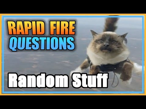 Random - Trump answers viewer submitted questions in rapid succession. Today's topic: nothing - random question crossfire pew pew. ·····································...