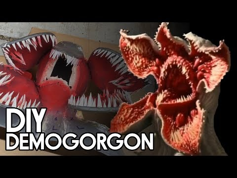 DIY Stranger Things Demogorgon Monster - Backyard FX