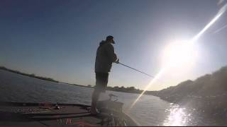 KVD Catch of the day - California Delta day 2, 2015 #GoPro