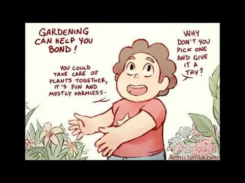 Steven Universe Comic Dub - Gardening (by aithris)