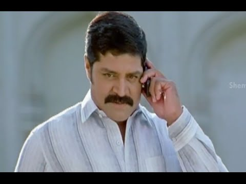 Badradri Full Movie Scenes - Srihari calls Mukesh Rushi to Golconda to find him - Nikitha, Raja
