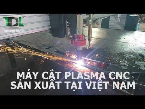 Máy cắt Plasma cnc - Toàn Đắc Lộc