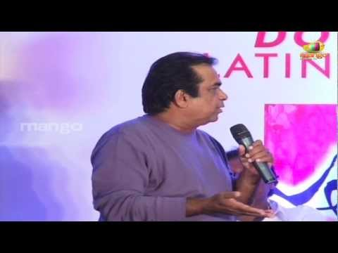 Brahmanandam joking on Trivikram Srinivas - Julayi Double Platinum Disc Function