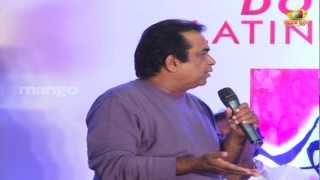 Video Brahmanandam joking on Trivikram Srinivas - Julayi Double Platinum Disc Function MP3, 3GP, MP4, WEBM, AVI, FLV Maret 2019