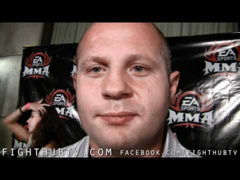 Fedor Emelianenko When my career ends the UFC will be sorry