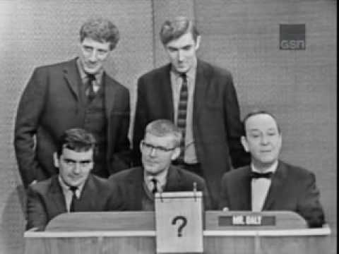 What's my line - Dudley Moore, Peter Cook