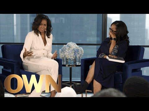 Michelle Obama Reflects on Barack Obama's Childhood   Oprah's Book Club   Oprah Winfrey Network