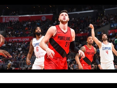 Jusuf Nurkic Posts 14 points and 20 rebounds vs. Los Angeles Clippers | January 30, 2018