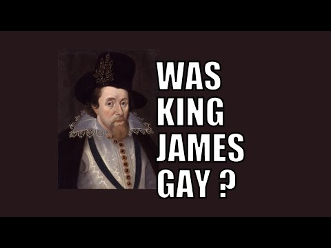6/19: Was King James a homosexual?