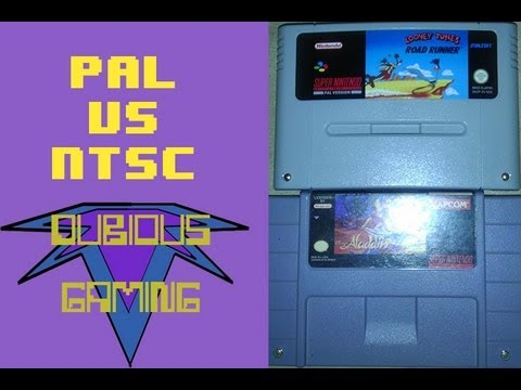 PAL VS NTSC: Super Nintendo Cartridges - Dubious Gaming