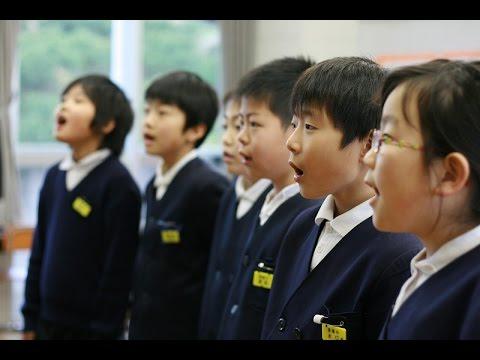 『春や昔』20150115松山市立浅海小学校(3・4年生)