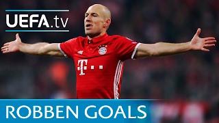 Download Video Arjen Robben: 5 trademark goals MP3 3GP MP4