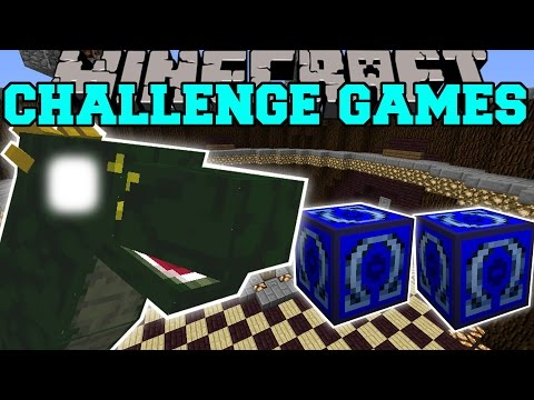 Minecraft: BASILISK CHALLENGE GAMES - Lucky Block Mod - Modded Mini-Game