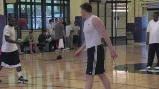 Luke Harangody DraftExpress Workout Webisode