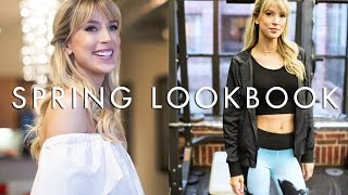 SPRING LOOKBOOK 2017 | colorful & casual by Leigh Ann Says