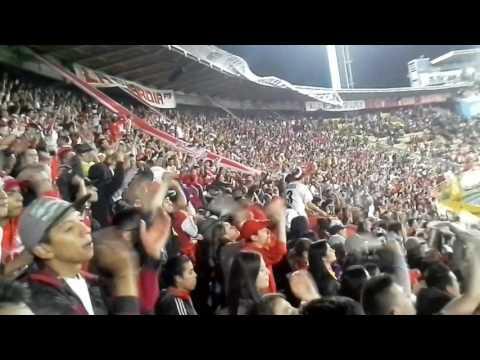 Santa Fe vs Medellin 2016 La Guardia - La Guardia Albi Roja Sur - Independiente Santa Fe
