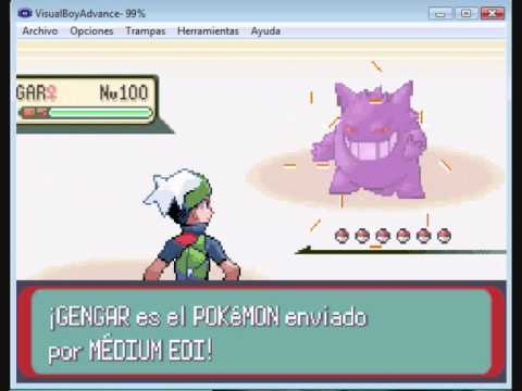 pokemon esmeralda gameshark robar pokemon