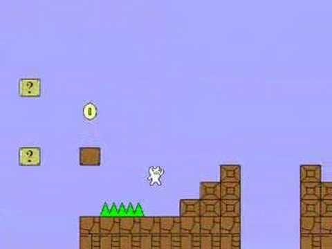マリオっぽい自作ゲームを作ってみた