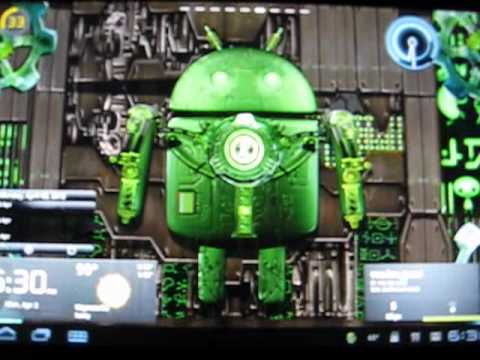 Video of Steampunk Droid Free Wallpaper