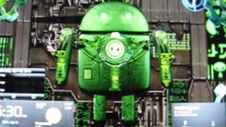 Steampunk Droid Free Wallpaper YouTube video