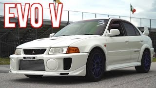 Evo 5 in the USA - 700HP AWD Street Machine! by  That Racing Channel